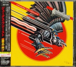 Screaming For Vengeance (2011, Remastered Japan) (cat #: Sony Music SICP 3398)