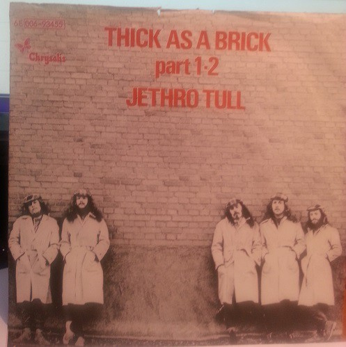 Thick As A Brick Part  1 - 2