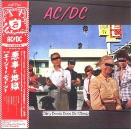 Dirty Deeds Done Dirt Cheap (Japanese)